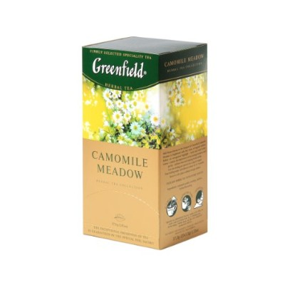 Greenfield Tea, Camomile Meadow, 25 Count by Greenfield