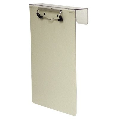 Poly Overbed Clipboard Color: Beige by Omnimed