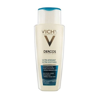 Dercos Ultra Soothing Shampoo Normal To Oily Hair 200ml [並行輸入品]
