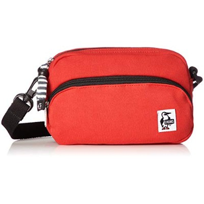 [チャムス]CHUMS Shoulder Pouch Sweat Scarlet