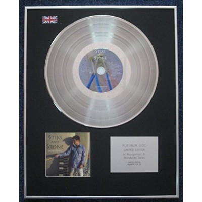 Stiks and Stone - Limited Edition CD Platinum LP Disc - Stiks andStone