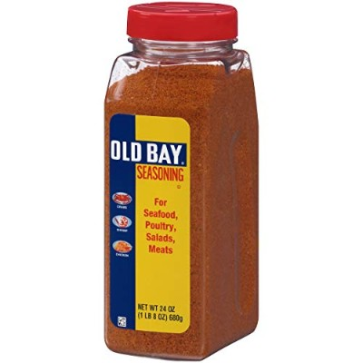 Old Bay Seasoning, 24-Ounce Plastic Canister (Pack of 3) by Old Bay
