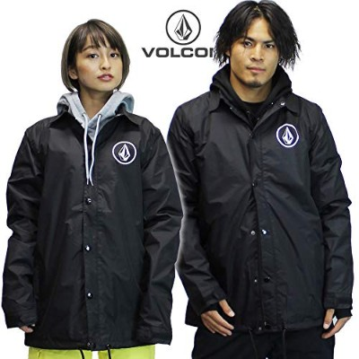 VOLCOM コーチジャケット BR SNOW Coach Jacket g01519jc: blk Mサイズ