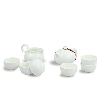 newchinaroad Dehuaホワイト磁器Xishi Tea set-100 %ハンドメイドChinese Kungfu Teaセット – Porcelain Tea Pot ...