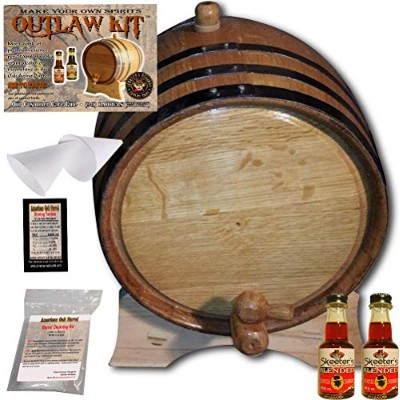 OutlawキットからAmericanオークバレル–Make your own Blended Scotch 2 Liter