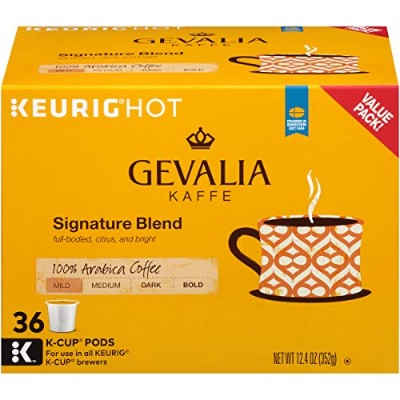 Gevalia Signature Blend K-Cup Pods, 12.4 Ounce by Gevalia