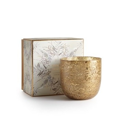 Illume Luxe Sanded Mercury Glass Candle冬ホワイト625g / 22oz