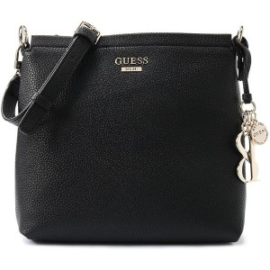 ゲス GUESS WEST SIDE SOCIETY CROSSBODY (BLACK) レディース