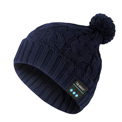 Blue ear® Wireless Bluetooth Beanie Outdoor Washable Wireless Hat Cap Build in Stereo Speakers and...