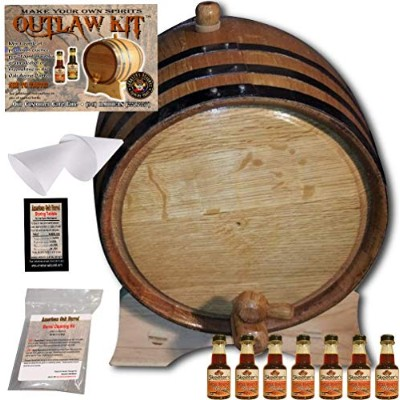 OutlawキットからAmericanオークバレル – Make your own Spiced Bourbon 5 Liter