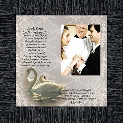 ToマイParents onマイWedding Day , Personalized Gifts for Parents on our Wedding Day , 10x 106777...
