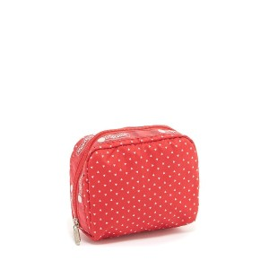 LeSportsac SQUARE COSMETIC○6701E129 Apple seeds メイクアップ