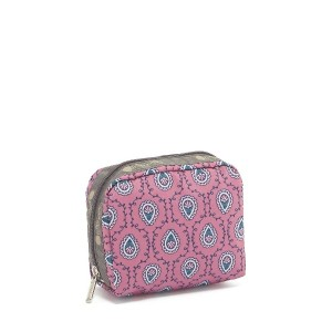 LeSportsac SQUARE COSMETIC○6701K528 Arles pink メイクアップ