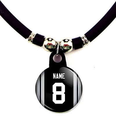 Oakland Football JerseyネックレスPersonalized with your name and number