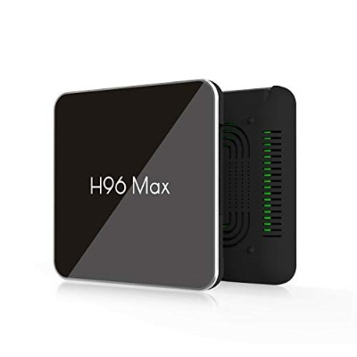 H96Max X2 TV Box Android 8.1スマートボックス4G32G Amlogic S905X2クアッドコアARM Cortex A53 @ 2GHz WiFiサポート4K (4G...