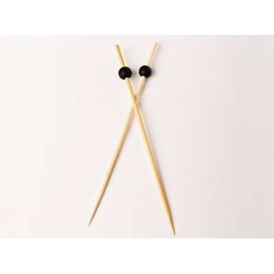 Simply Baked 6-inch Appetizer Picks inブラック 30 per Pack, 3-Pack