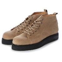 ディガウト DIGOUT PETE (Rubber Sole Monkey Boots) (BEIGE) メンズ