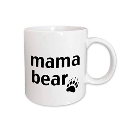 (440ml) - 3dRose mug_123095_2 Mama Bear Ceramic Mug, 440ml