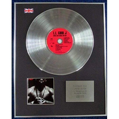 LL COOL JAY- Limited Edition CD Platinum LP Disc - TODD SMITH