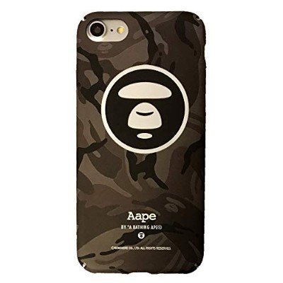 【 A BATHING APE 】 iPhone8 iPhone7 対応ケース ア ベイシング エイプ ape801 液晶保護フィルム付き [並行輸入品]