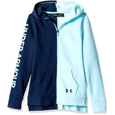 Under Armour Girls Rival Full Zip Youth Large ブルー