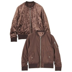 【SALE 60%OFF】EMODA REVERSIBLE MA-1 BZ(ブラウン)