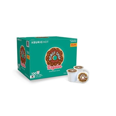 Green Mountain Coffee The Original Donut Shop Coffee (100 K-Cups) SCS