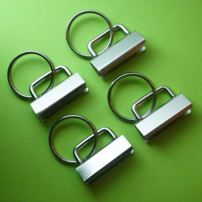 25 Sets - Key Fob Hardware with Split Ring - 1.25 Inch Wide by Simply Sew [並行輸入品]