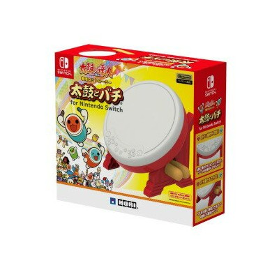 HORI 太鼓の達人専用コントローラー 太鼓とバチ for Nintendo Switch NSW−079