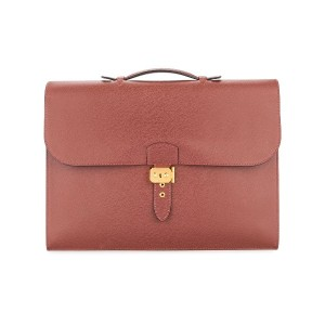 Hermès Pre-Owned Sac A Depeche 41 Business バッグ - ブラウン