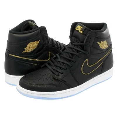 NIKE AIR JORDAN 1 RETRO HIGH OG 【LA】 ナイキ エア ジョーダン 1 レトロ ハイ OG BLACK/METALLIC GOLD/SUMMIT WHITE...