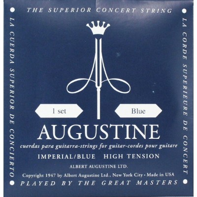 AUGUSTINE IMPERIAL BLUE SET クラシックギター弦