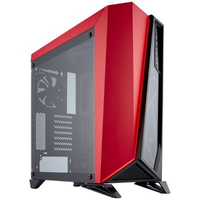 CC-9011120-WW コルセア ATX、microATX、Mini-ITX 対応PCケース(ブラック&レッド) CORSAIR Carbide SPEC-OMEGA Tempered...