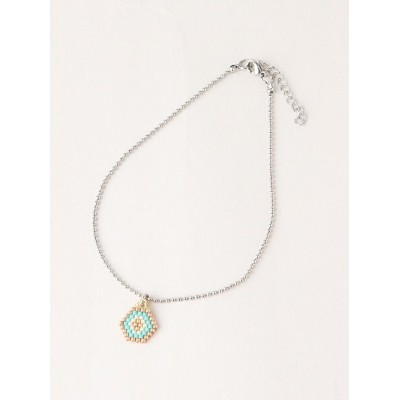 BEADED DNA BEADED DNA/(W)Lady Like Anklet トーホー アクセサリー アンクレット ブルー