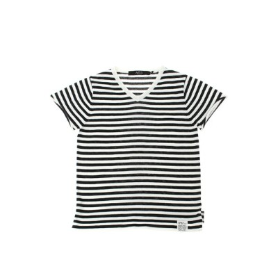 【SALE/50%OFF】AZUL by moussy DRY MIX ボーダーニットVネック半袖プルオーバー アズールバイマウジー その他【RBA_S】【RBA_E】