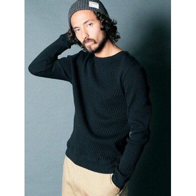 Magine VINTAGE WAFFLE P/O KNITSAW L/S マージン カットソー【先行予約】*【送料無料】