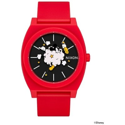 """BEAMS MEN NIXON × MICKEY MOUSE / """"Dust Up"""" THE TIME TELLER P 3針ウォッチ BEAMS ビームス ニクソン オリジナルBOX入り ギフト..."""