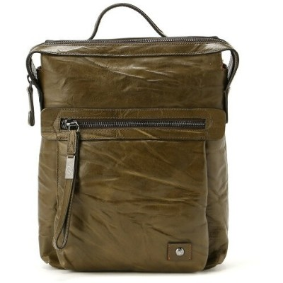 【SALE/50%OFF】OPRA OPRA/(M)MID. SQUARE BACKPACK フィロソフィア バッグ リュック/バックパック グリーン ブラウン レッド【RBA_E】【送料無料】