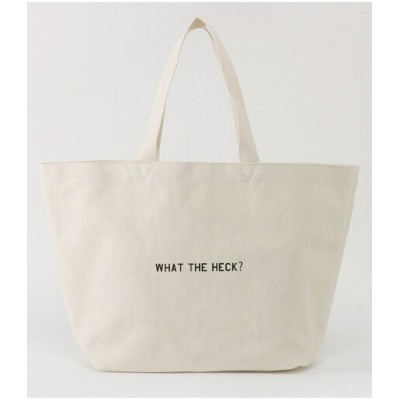 【SALE/30%OFF】AZUL by moussy WHAT THE HECK? トートバッグ アズールバイマウジー バッグ バッグその他 ホワイト ブラック