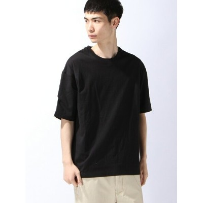 【SALE/40%OFF】SUPERTHANKS PLEATS TAPE BIC T-SHIRT スーパーサンクス カットソー【RBA_S】【RBA_E】【送料無料】