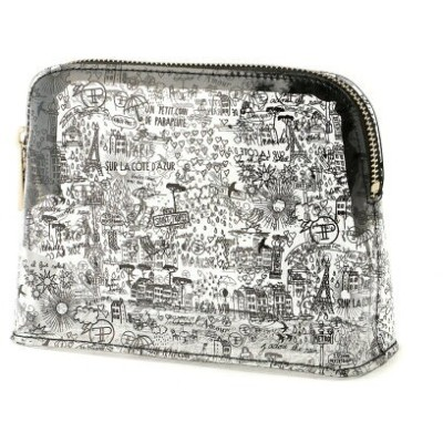 Faux Pas PARIS Parisianne Vinyl Pouch/ポーチ フォーパパリ バッグ ポーチ ホワイト イエロー ピンク【送料無料】