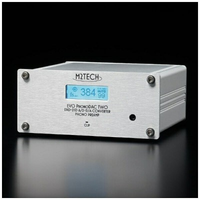 M2TECH フォノイコライザー内蔵USB-DAC Evo PhonoDAC Two
