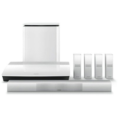 BOSE ホームシアター home entertainment system ホワイト Lifestyle 650 [5.1ch /Bluetooth対応][LIFESTYLE650WH]