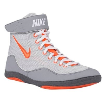 ナイキ メンズ レスリング シューズ・靴【Nike Inflict 3】Pure Platinum/Total Orange/Stealth/Dark Grey