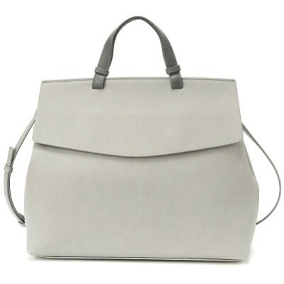 【SALE/30%OFF】HITCH HIKE MARKET slim flap 2way bag ヒッチハイクマーケット バッグ トートバッグ グレー ホワイト グリーン【送料無料】