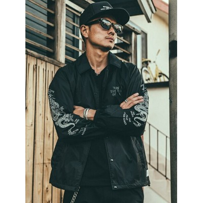 【SALE/30%OFF】CRIMIE DRAGON COACH JACKET ガーデン コート/ジャケット【RBA_S】【RBA_E】【送料無料】