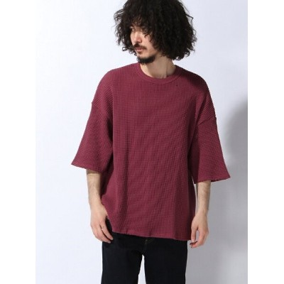 【SALE/31%OFF】VOTE MAKE NEW CLOTHES HEAVY THERMAL BIG TEE ヴォート メイク ニュー クローズ カットソー Tシャツ ブラウン グリーン...