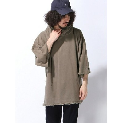 【SALE/20%OFF】VOTE MAKE NEW CLOTHES WIDE SLEEVE HARF HOODIE ヴォート メイク ニュー クローズ カットソー【RBA_S】【RBA_E】...