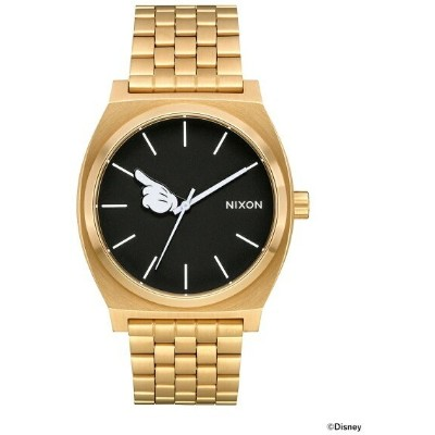 """BEAMS MEN NIXON × MICKEY MOUSE / """"One Glove"""" THE TIME TELLER 3針ウォッチ BEAMS ビームス ニクソン オリジナルBOX入り ギフト..."""