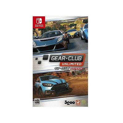Switchゲームソフト GEAR・CLUB Unlimited